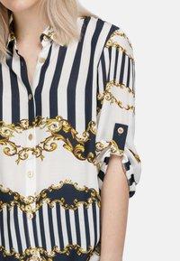 HELMIDGE - Button-down blouse - weiss - 4