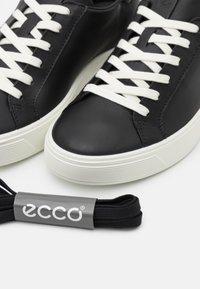 ECCO - STREET TRAY - Trainers - black - 5