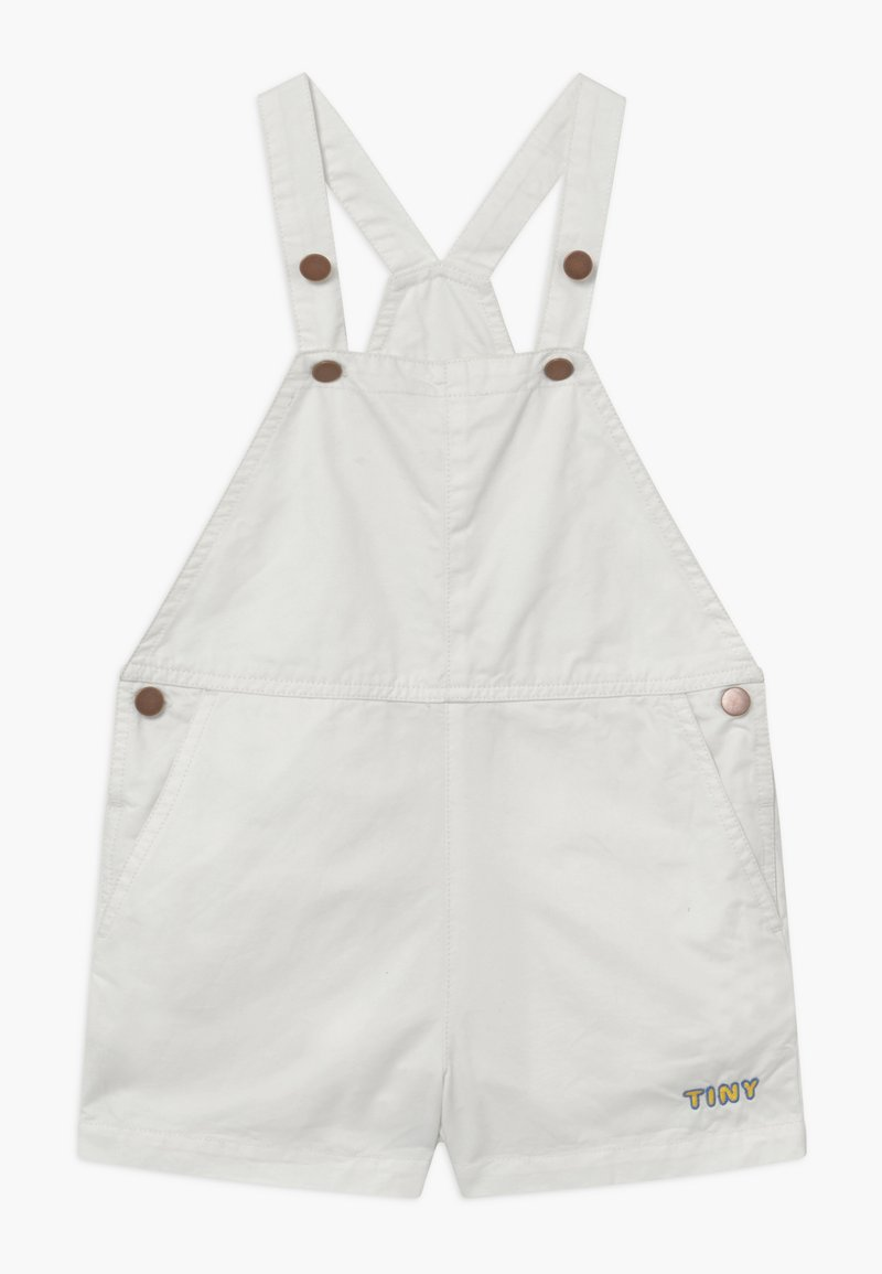 TINYCOTTONS - DENIM ROMPER - Dungarees - off white
