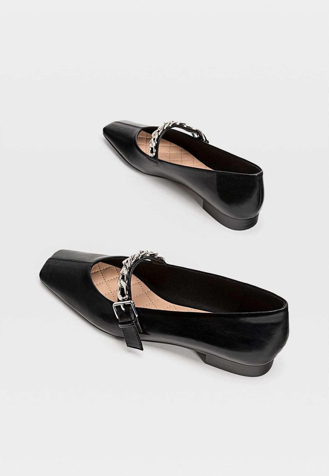 Stradivarius Loafers - Black
