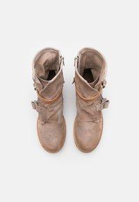 A.S.98 - Cowboy/biker ankle boot - dust - 5