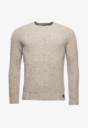 Jumper - oatmeal tweed