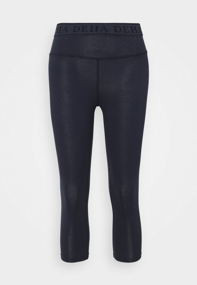 LEGGINGS 3/4 - 3/4 sportbroek - night blue