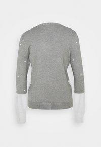 Fashion Union - CHRISTMAS MRS CLAUS ICE SKATING - Jumper - grey - 1
