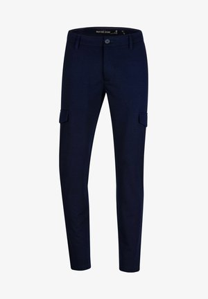 SUPER STRETCH ECKHART - Cargo trousers - navy