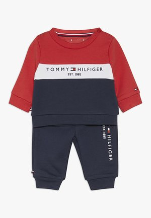 BABY COLOURBLOCK TRACKSUIT SET - Mikina - blue