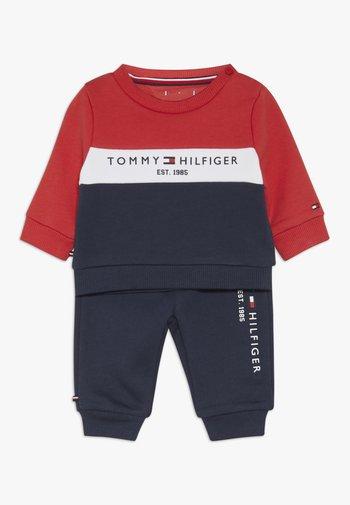 BABY COLOURBLOCK TRACKSUIT SET - Sweatshirt - blue