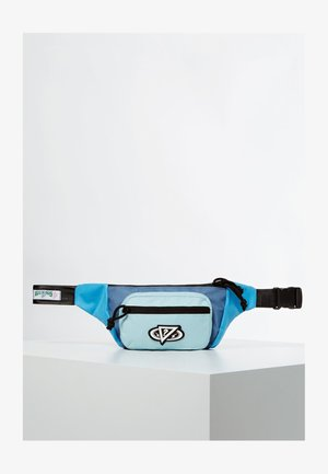 Saszetka nerka - mehrfarbig, grundton blau