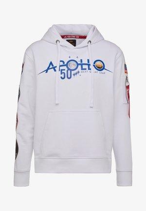 PATCH HOODY  ANNIVERSARY CAPSULE - Bluza z kapturem - white