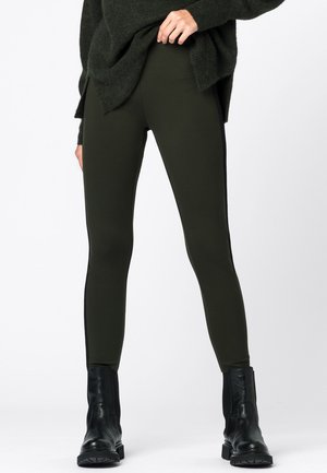 Leggings - Trousers - olijfgroen
