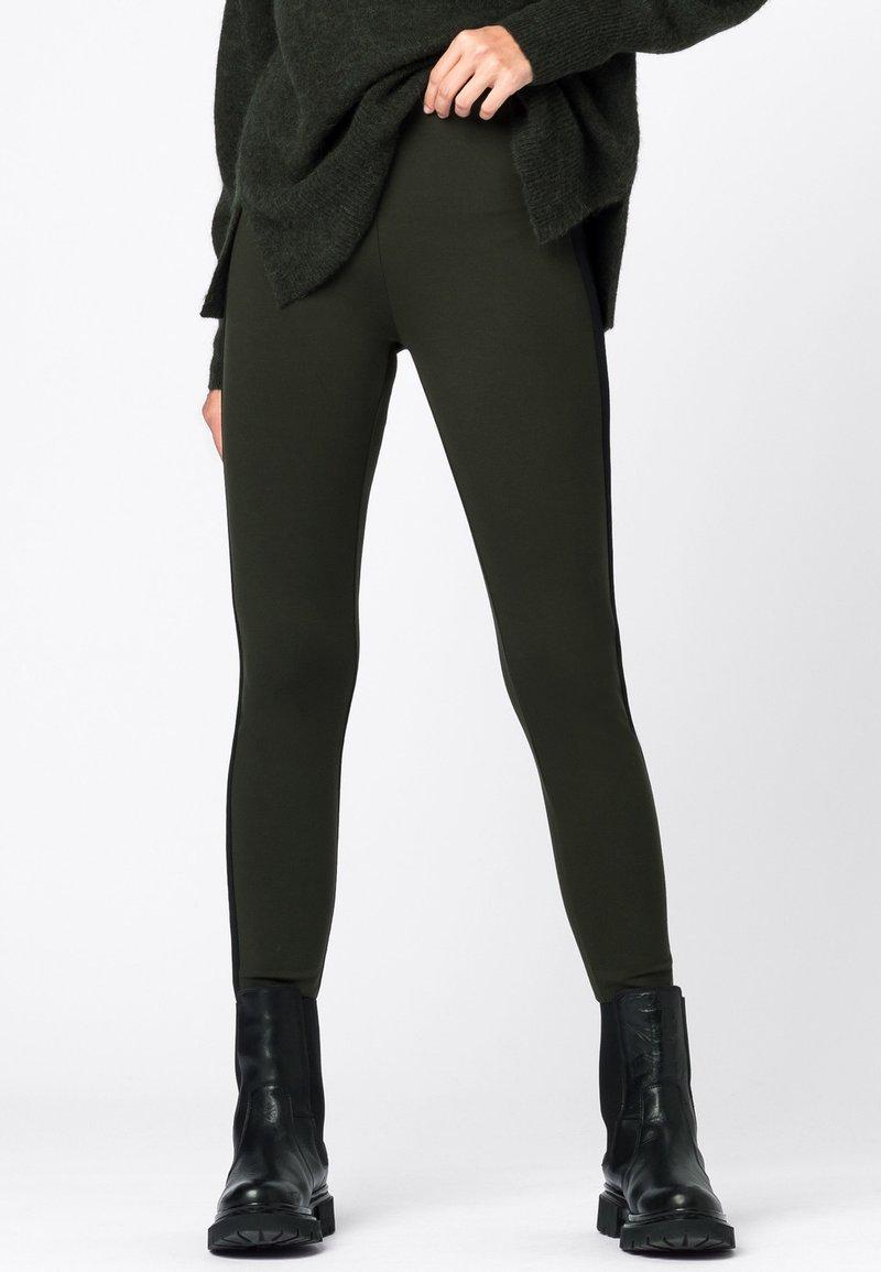 HALLHUBER - Leggings - Trousers - olijfgroen