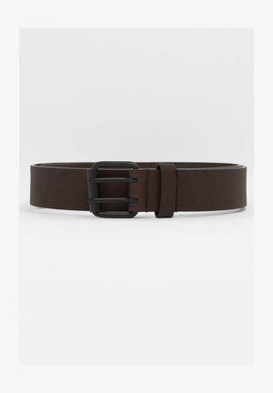 MIT GRAVUR - Belt - brown
