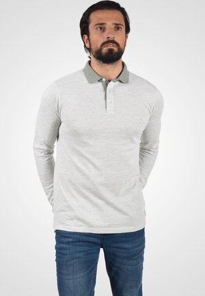 PANTOS - Polo - light grey melange