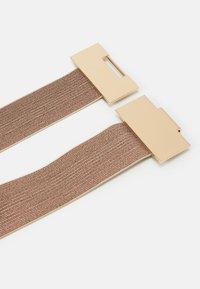 PARFOIS - Waist belt - light gold - 2