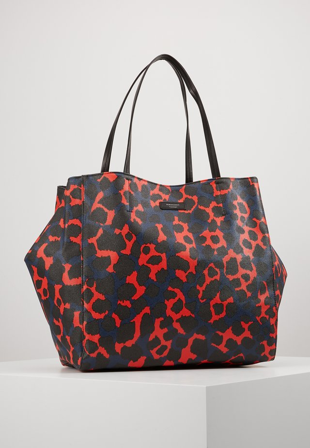 LEO TOTE - Cabas - red