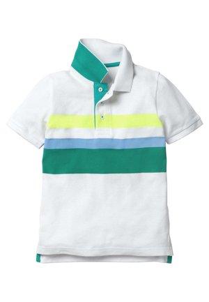 Polo shirt - weiß/bunt
