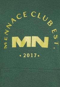 Mennace - CLUB HOODIE UNISEX - Sweatshirt - green - 2
