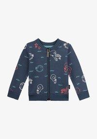 Sanetta Kidswear - Hoodie met rits - blau - 0