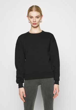 BASIC CREW NECK  - Sweatshirt - black