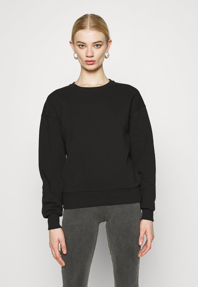 BASIC CREW NECK  - Sweatshirts - black
