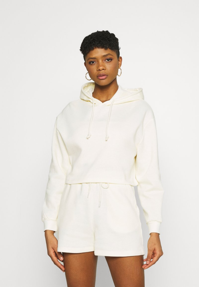 Pieces - Hoodie - white pepper
