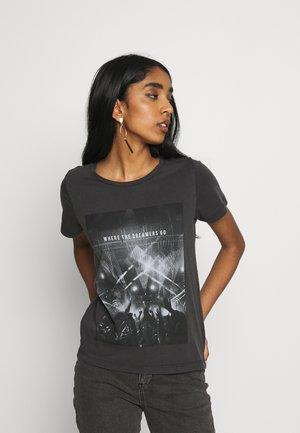NMNATE FESTIVAL - Print T-shirt - black