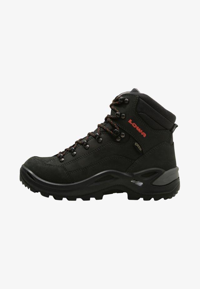 RENEGADE GTX MID - Hiking shoes - anthrazit/mandarine