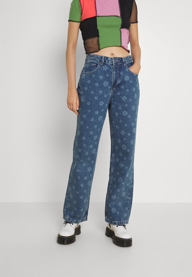 DAISY  - Relaxed fit jeans - light blue
