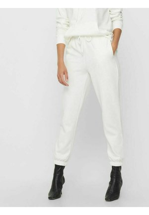 ONLFEEL LIFE PANT - Tracksuit bottoms - cloud dancer