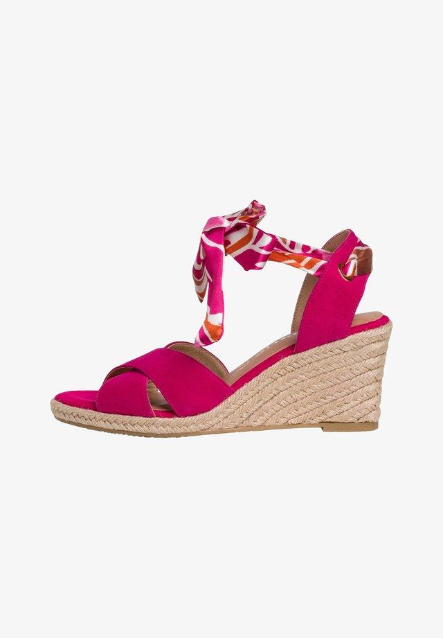 Sandales compensées - paradise