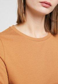 Noisy May - NMPANA SOLID - Sweatshirt - brown sugar - 5