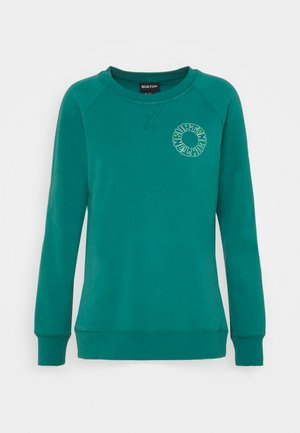 KEELER CREW - Sweatshirt - antique green