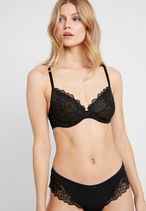 KELSIE UNDERWIRE - Underwired bra - black