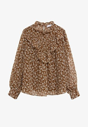 LUCY - Blouse - bruin