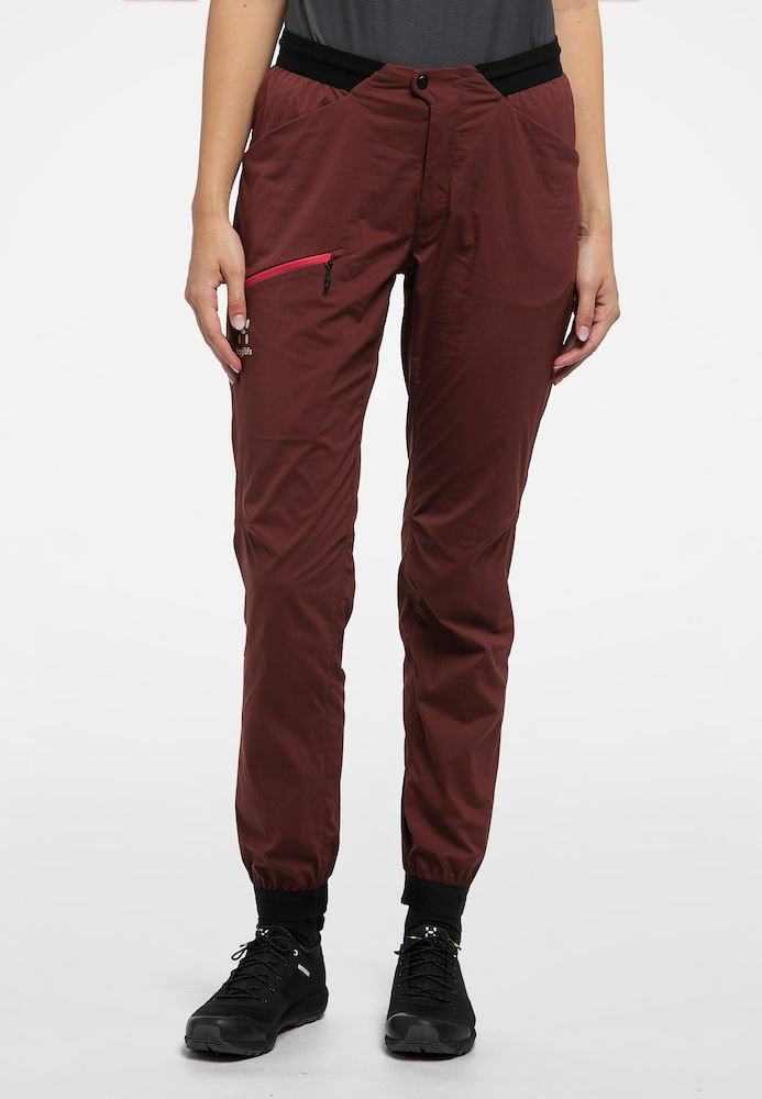 Haglöfs - L.I.M FUSE PANT WOMAN - Outdoor trousers - maroon red