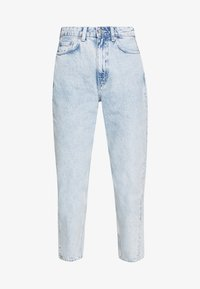 Weekday - MEG HIGH MOM WASHED BACK - Straight leg jeans - aqua blue - 3