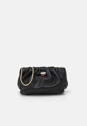 ANALEIGH OVERSIZED GATHERED - Clutch - black