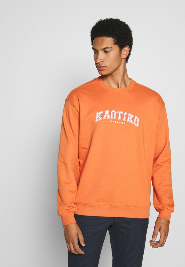CREW CORWIN - Sweatshirt - orange