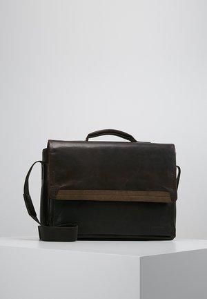 CAMDEN - ANKTENTASCHE - Briefcase - dark brown
