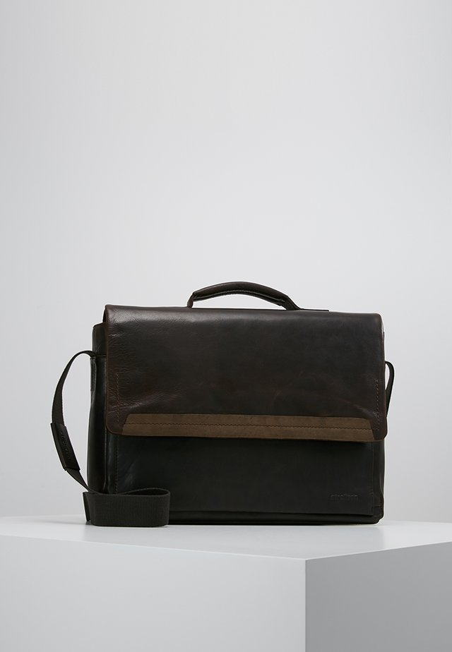 CAMDEN - ANKTENTASCHE - Portafolios - dark brown