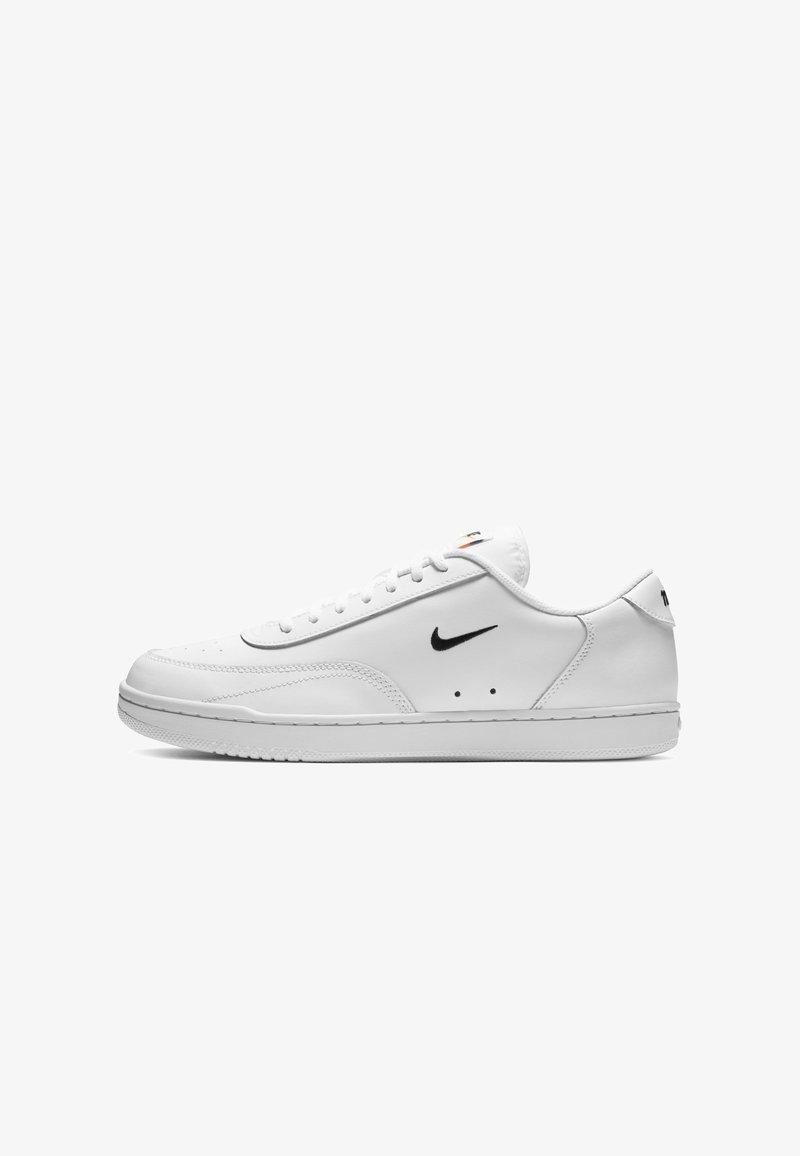 Nike Sportswear - COURT VINTAGE  - Trainers - white/total orange/black