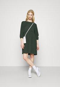 Monki - DRESS - Day dress - green dark - 1