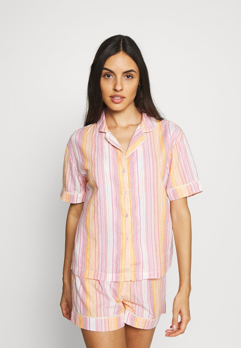 Marks & Spencer London - HANGING SHORT SET - Pyjamas - pink