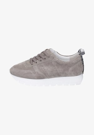 Trainers - taupe / white