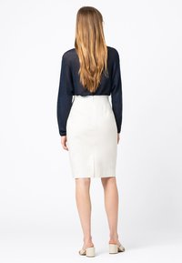 HALLHUBER - Pencil skirt - offwhite - 2