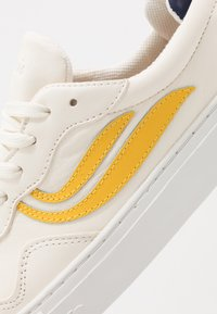 Genesis - SOLEY UNISEX  - Sneakers laag - white/yellow/navy - 6