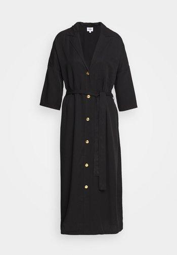 ALBA DRESS - Shirt dress - washed black