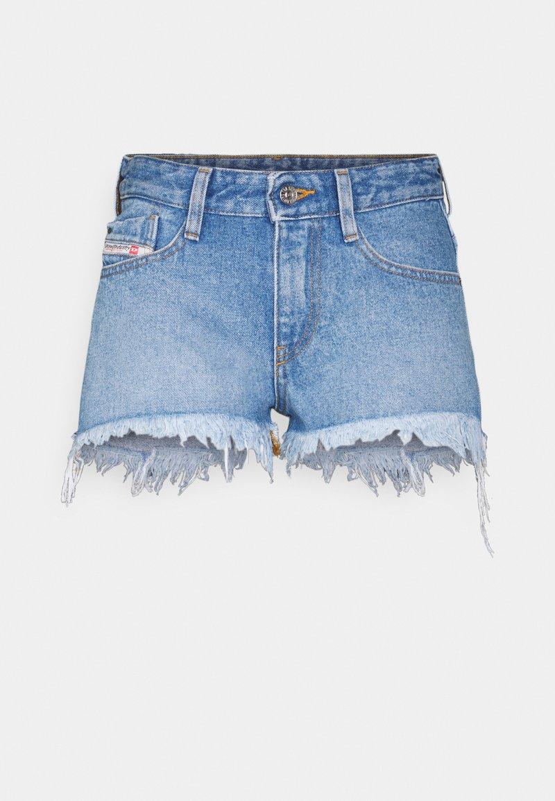 Diesel - DE-RIFTY - Denim shorts - denim blue