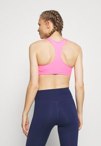 Nike Performance - BRA PAD - Sports bra - pink beam/new green - 2