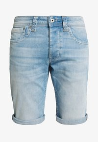 CASH SHORT - Jeans Shorts - light-blue denim